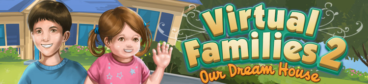 Virtual families 2 completed house with all females youtube.